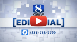Video of KSBW Day of Hope and Help Editorial