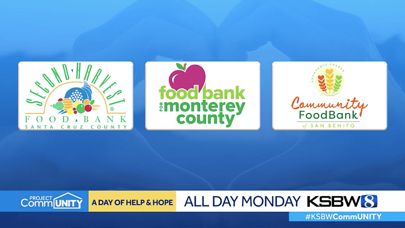 KSBW Day of Help and Hope for regional food banks fundraiser