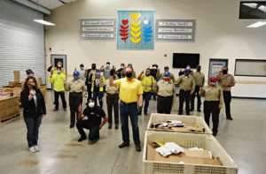 Granit Construction provides lunch support for volunteers at food bank in San Benito County, CA