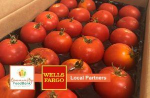Food bank local partner Wells Fargo Bank grant funding
