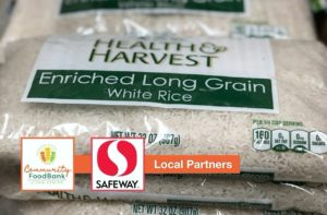 Food bank local partner Safeway grant funding